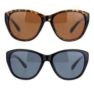 Women Minimal Simple Plastic Frame Mod Butterfly Sunglasses