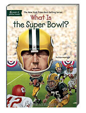 What is the Super Bowl? (pb) by Dina Anastasio football's big game NEW