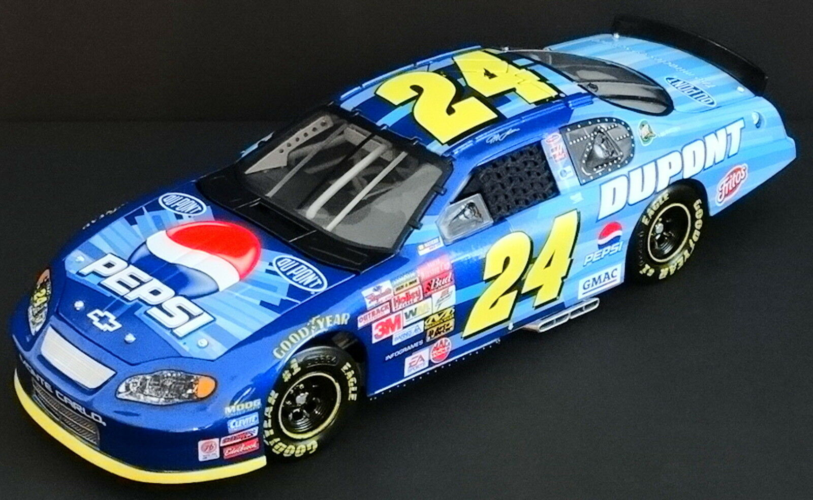 Jeff Gordon  24 Dupont   Pepsi 1 24 Elite Größedega 2003 Monte Carlo 2213 2724