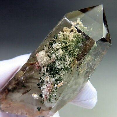 Natural Scenic Phantom Quartz Crystal Point-qzre1006