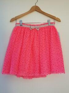 Girls Tutu Skirt Cat /& Jack--Neon Orange-4T  #D11