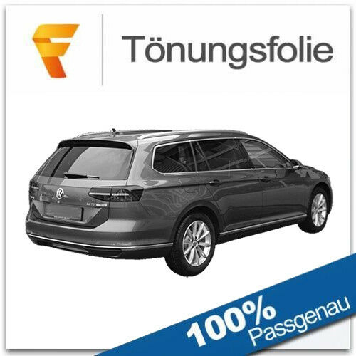3D Tönungsfolie VORGEWÖLBT VW Passat Variant B8 Bj ab 2014