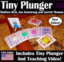 TINY PLUNGER Magic Trick By Mathieu Bich, Jon Armstrong and Garrett Thomas