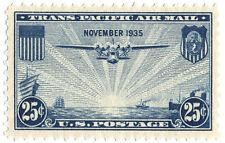 US Scott  #C20 China Clipper 25¢ Blue MNH***FREE SHIP***