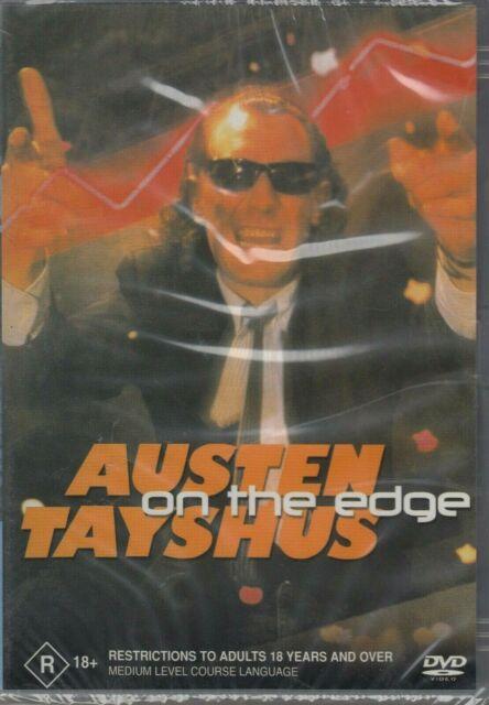 Austen Tayshus - On The Edge (DVD, 2002) Brand New - Region 4
