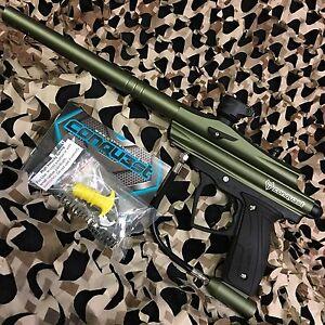 NEW-D3FY-Sports-Conqu3st-Semi-Auto-Mechanical-Paintball-Gun-Olive-Green
