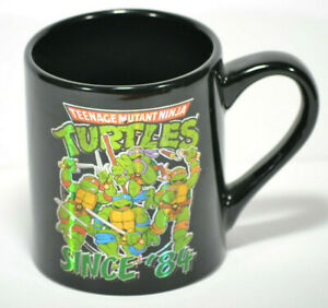 Teenage-Mutant-Ninja-Turtles-Since-84-Coffee-Tea-Mug-Black-14-oz-2015-TMNT