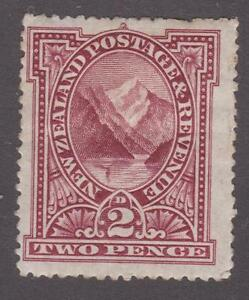 New Zealand 1898 #72 Pembrose Peak - MH 58% OFF!