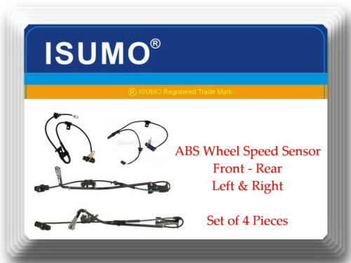 Rear Left /& Right Fits:lexus RX300 99-03 AWD 4 ABS Wheel Speed Sensor Front