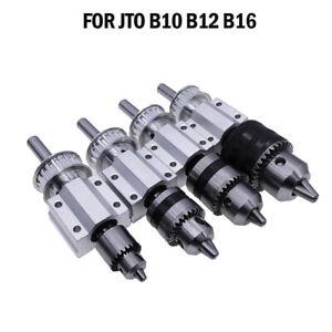 Portabrocas husillo DIY accesorios para taladro máquina de torneado banco de giro b10