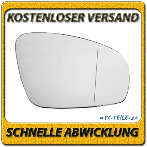 Vidrio pulido para Skoda Roomster//praktik a partir de 2007 a la derecha del pasajero asphärisch