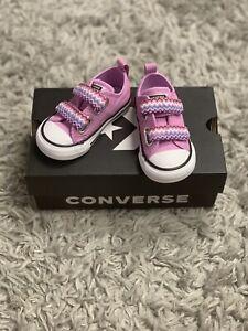 New Converse Chuck corte baixo tamanho 5 Infantil | eBay