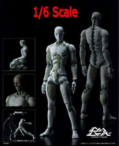 1//12 Scale Synthetic Human Action Figure Figurine He Body Heavy Industries Toys