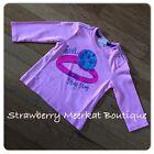 NEW Baby Girls ex Store Diesel 3/4 Sleeve T-shirt Top Age 0 3 6 9 months