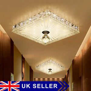 Square-Gorgeous-LED-Crystal-Ceiling-Down-Light-Panel-Wall-Kitchen-Bathroom-Lamp