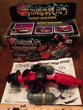 Thundercats Mutant Nose Diver Vehicle Complete BOX Instructions VINTAGE LJN 1986