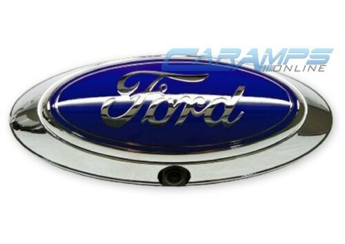 NEW HIGH RESOLUTION OVAL BACK UP CAMERA FOR AFTERMARKET STEREO FOR FORD F-SERIES