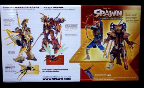 McFarlane Toys Manga Spawn Robots Deluxe 2 Figure Box set New