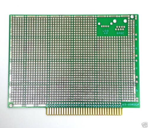 10pc FR4 PCB board Double side KT-11145DX size=140x101x1.6mm Slot=2.54mm 31x2P