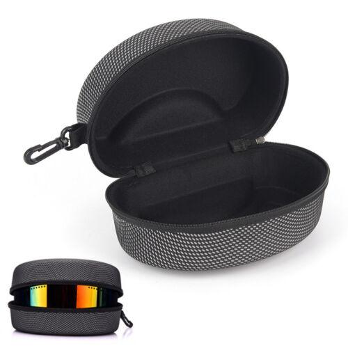 EVA Snow Ski Eyewear Case Skiing Goggles Carrying Case Zipper Box Holder vbuk