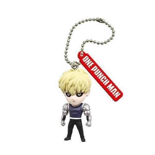 Takara One Punch Man Wanpanman Key Chain Swing Figurine Genos
