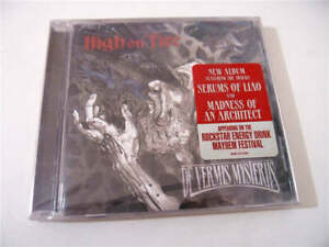 High-On-Fire-De-Vermis-Mysteriis-EOM-CD-2166-US-CD-Album-SEALED