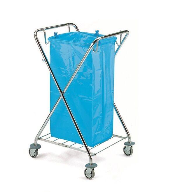 Tts déchets voiture 1 x 120 L Dust x benne à ordures sac poubelle support déchets séparateur-voiture