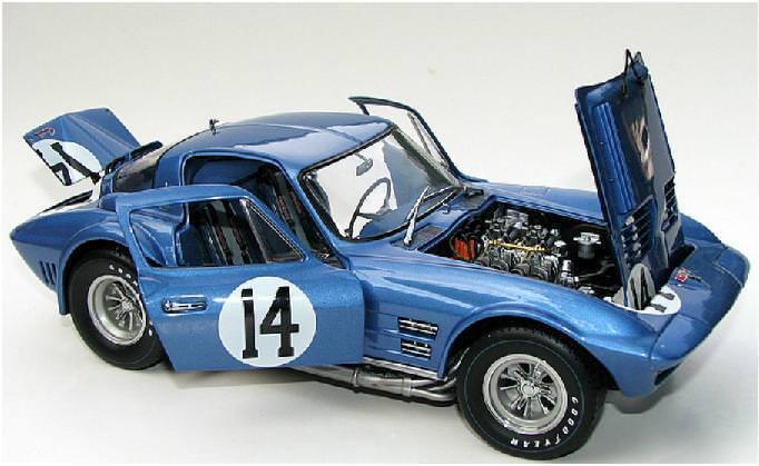 Exoto  Racing Legends'S 1 18 Corvette Corvette Corvette GRAND SPORT  14 - DON YENKO f58e0d