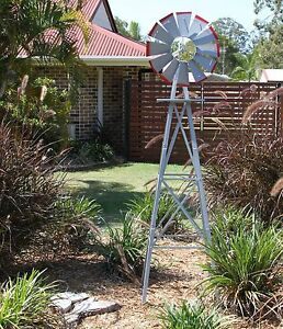 Awesome Image Is Loading GARDEN WINDMILL  1800MM 6FT NEW ORNAMENTAL OUTDOOR DECORATIVE