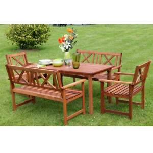 b2e8b4a70bd Image is loading Outdoor-Garden-Furniture-Wooden-6-Seat-Rectangular-Garden-