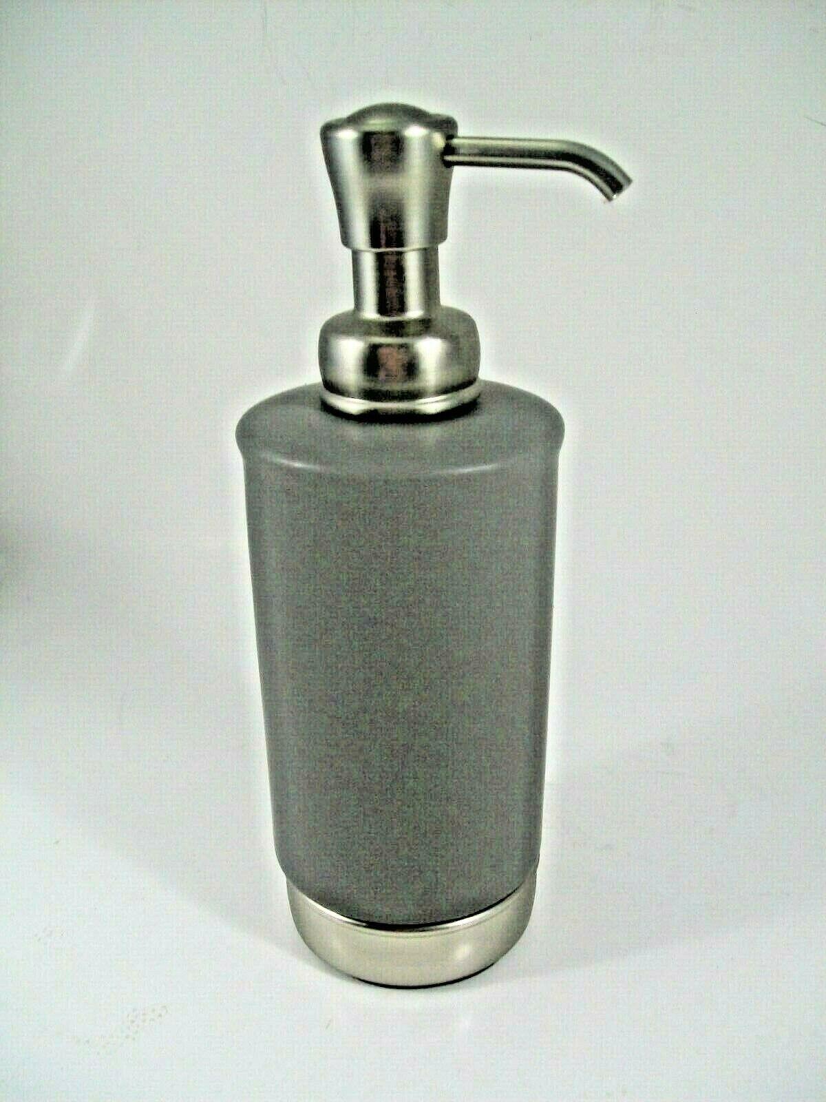 Soap Dispenser York Soap Pump in Matte Grey