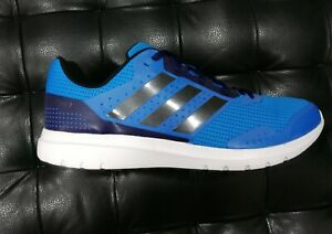 46 Nuovo Ginnastica 7m Running Scarpe B33552 Azzurro Duramo Adidas Tela Tg 6gwHZq7