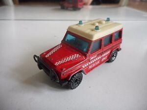 Matchbox-Mercedes-280-GE-in-Red