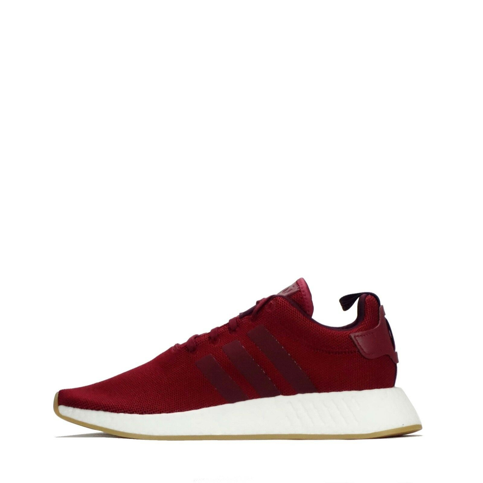Adidas Originals NMD_R2 Men's shoes in Burgundy Maroon