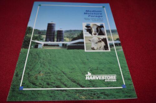 Smith Harvestore Silo Medium Moisture Forage Haylage Dealer Brochure DCPA7 A.O