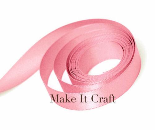 Pink Shades 9mm Double Faced Satin Ribbon