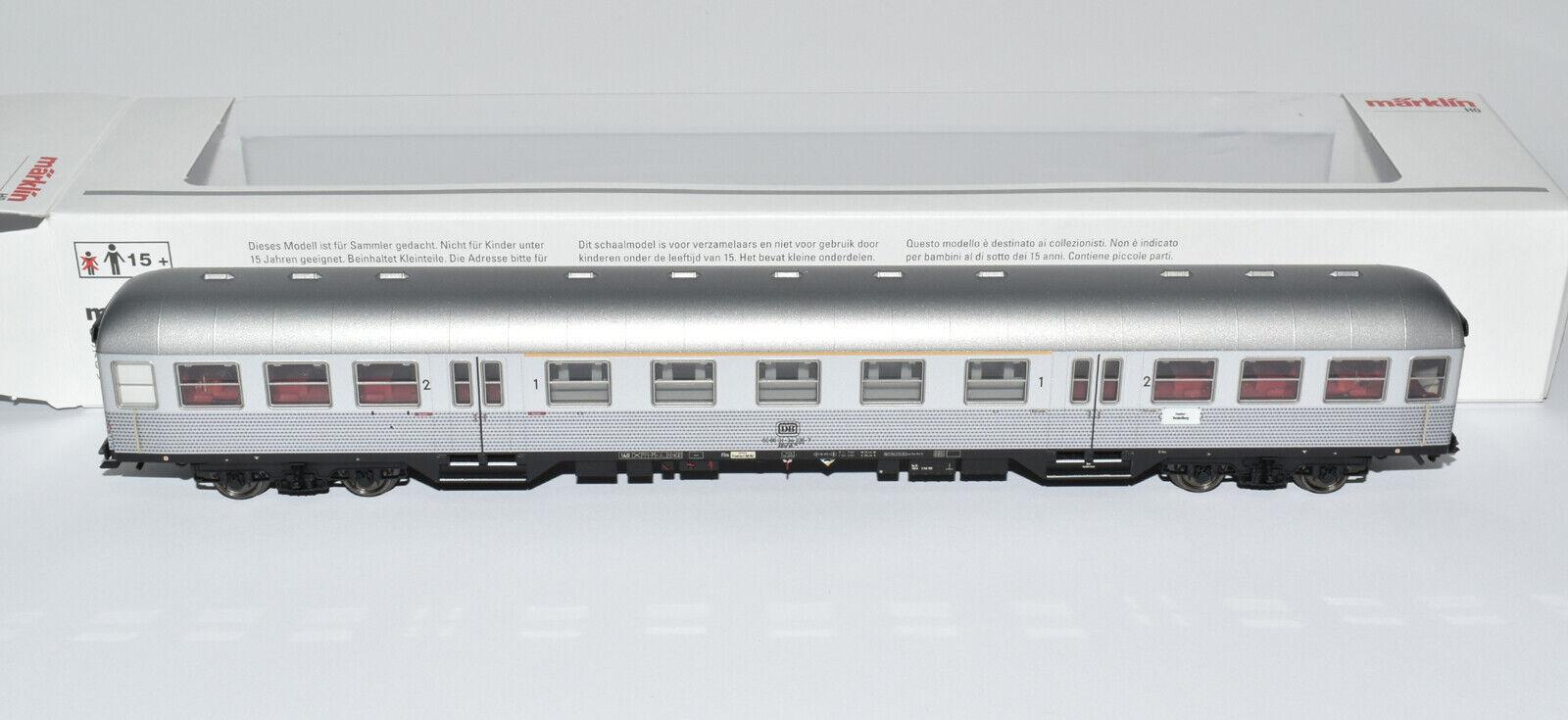 Märklin 43898 Silberling Nahverkehrswagen 1. & 2. Klasse DB in Ep. IV NEU & OVP