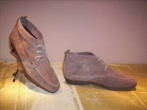 38 Arabella cuero mujer de mujer tobillo para zapatos Beige Casual Zapatos  de Suede de 1T1fOwq edb383a9abcf