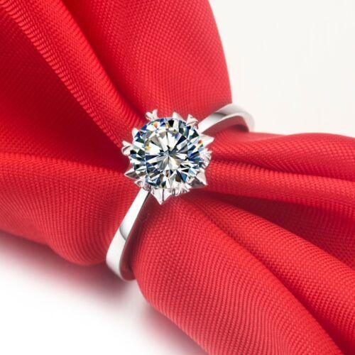 Anillo de mujer anillo de compromiso anillo 925 Sterling plata compromiso regalo nuevo