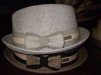 Betmar York-joanne Braided Trilby Hat- 1sfm-2 Colors-nwt