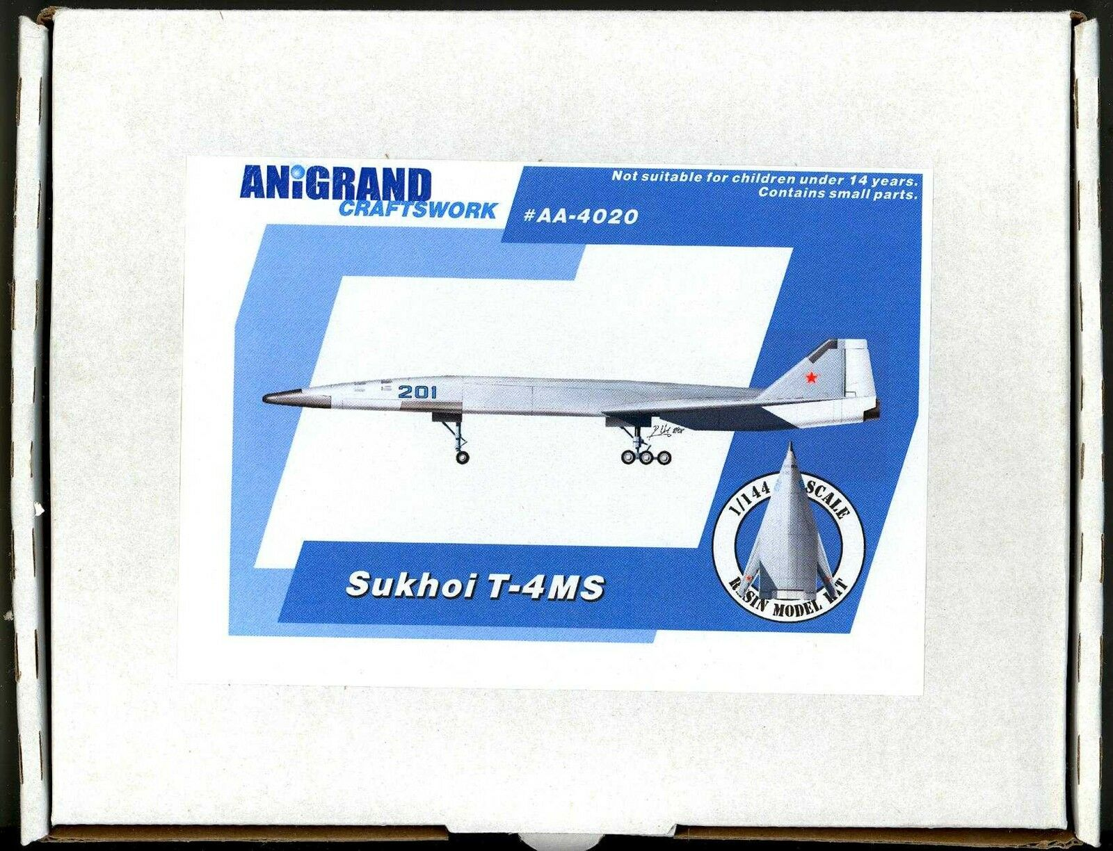 Anigrand Models 1 144 SUKHOI T-4MS Russian Supersonic Bomber