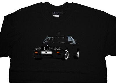 BMW E30 M3 Evo T Shirt T-shirt - Unique - Quality Unique Design - ALL OPTIONS