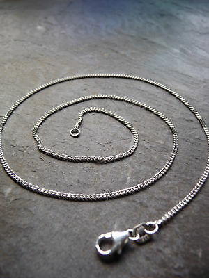 """Ola Gorie Sterling Silver 925 Curb Chain 18/"""" 2.5g"""