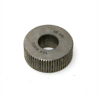 """Form-Rol 16 TPI Straight Teeth 1-1//4/"""" Knurl 1//2/"""" Thick 1//2/"""" Axis"""