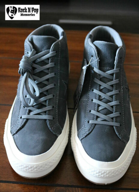 Converse Mens One Star Mid Counter Climate High Top Gray Unisex 158833C SZ  9 10 a6b2a922e