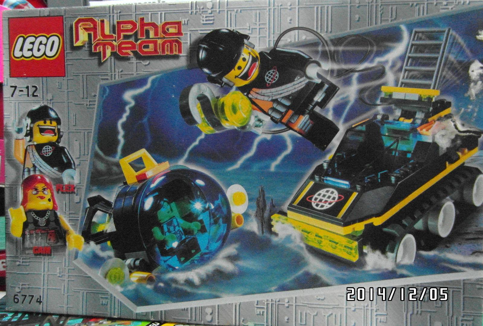 LEGO Alpha Team 6774  Alpha Team ATV ATV ATV  NEU OVP 0c9174