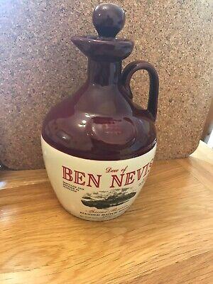 Ben Nevis Dew 70cl Acqua Brocca Non Utilizzata. Ottime Condizioni-mostra Il Titolo Originale Imballaggio Di Marca Nominata