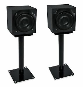 Mount-It-Floor-Speaker-Stands-for-Satellite-Speakers-System-Glass-and-Aluminum