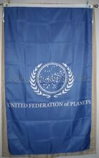 United Federation of Planets Star Trek 3' x 5' Vertical Flag Banner - USA Seller