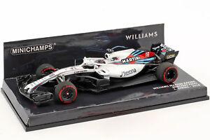 Williams-Mercedes-FW41-Lance-Stroll-2018-1-43-Minichamps